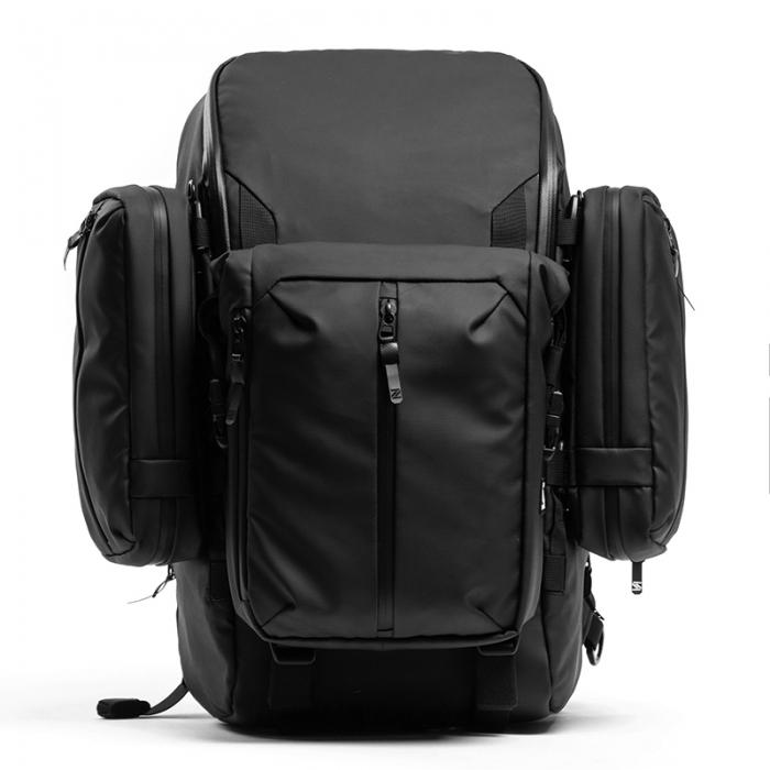 Modular backpack R3 + 2 Side Bag + Front Roll