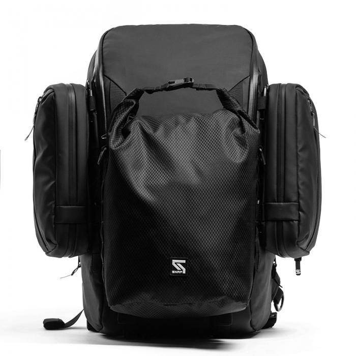 Modular backpack R3 +2 Side Bag + Dry Bag